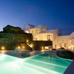 Aenaon Villas in Santorini.
