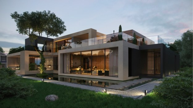 Country villa in Monteuil by Alexandra Fedorova 01