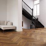 Residential Herringbone project by Dennebos Flooring 04