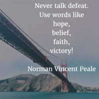 Norman Vincent Peale: On Victory