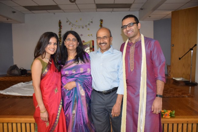 Indian pooja - with in laws