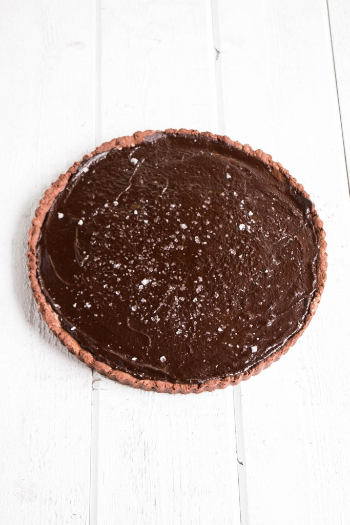 Cookbook Club - Salted Chocolate Caramel Tart   My Kitchen Love