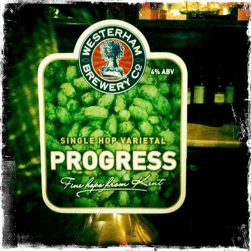 Progress - Westerham Brewery