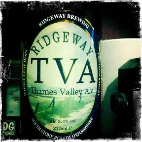TVA Thames Valley Ale - Ridgeway Brewing