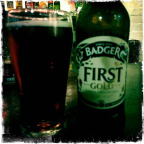 First Gold - Badger Brewery