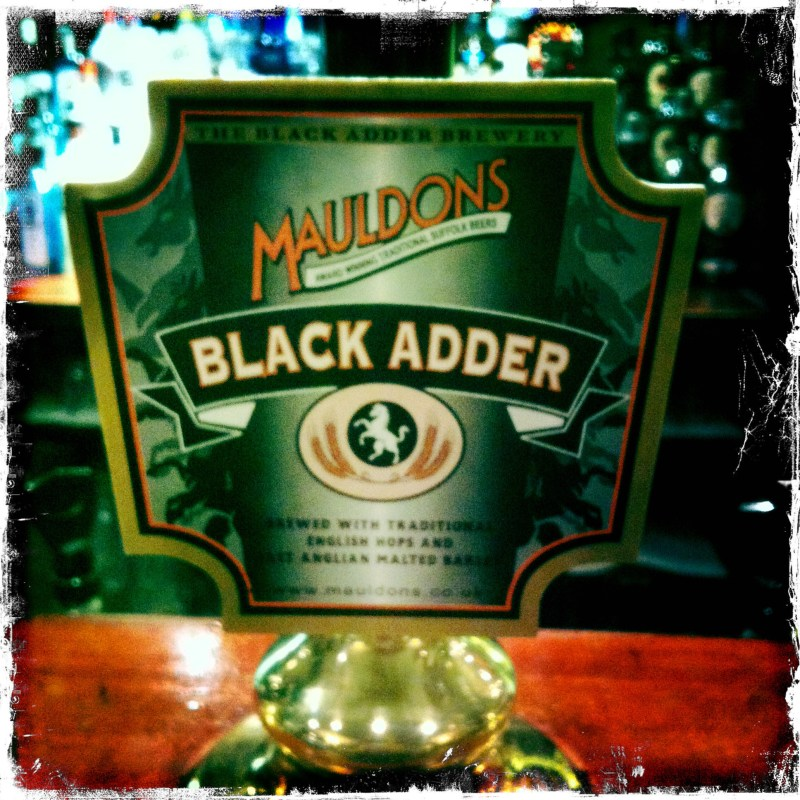 Black Adder - Mauldons Brewery (365)