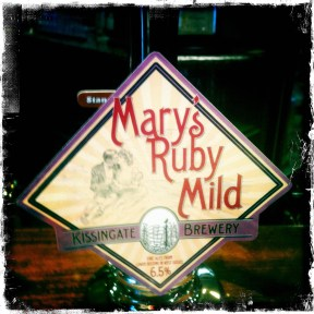 Mary's Ruby Mild - Kissingate Brewery (370)