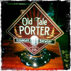 Old Tale Porter - Kissingate Brewery (367)