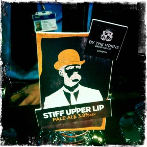 Stiff Upper Lip - By The Horns Brewery