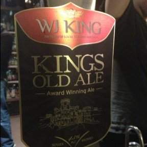 Kings Old Ale – WJ King Brewery
