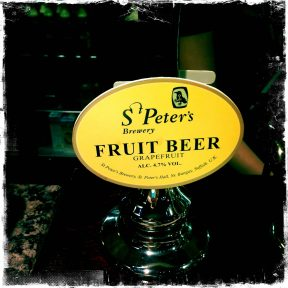 Fruit Beer (Grapefruit) - St Peter's Brewery