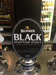 Black Scottish Stout - Belhaven Brewery
