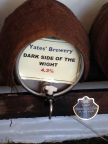 Dark side of the Wight - Yates Brewery