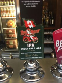 Red Racer IPA - Central City (Shepherd Neame) Brewery