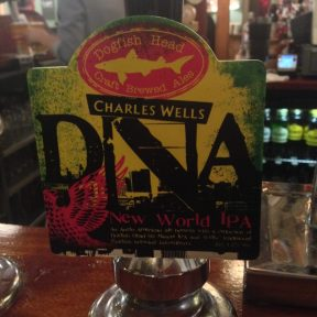 DNA - Dogfish Head (Charles Wells) Brewery
