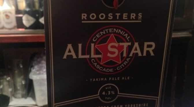 All Star - Roosters Brewery