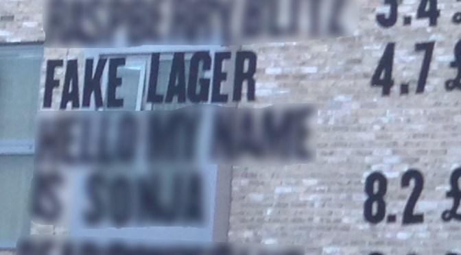 Fake Lager - BrewDog Brewery