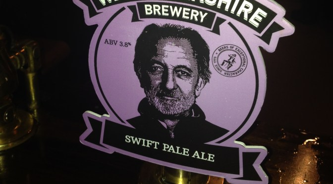 Swift Pale Ale - West Berkshire Brewery