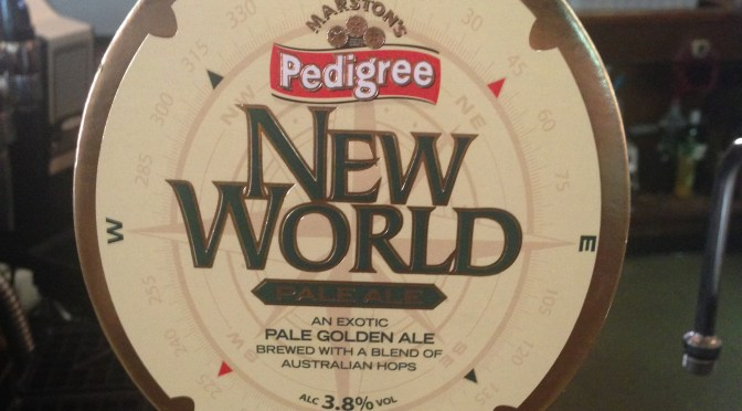 Pedigree New World – Marston's Brewery