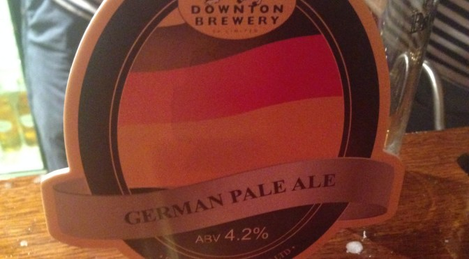 German Pale Ale – Downton Brewery