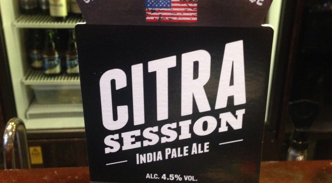Citra Session IPA – Green Flash (Banks) Brewery
