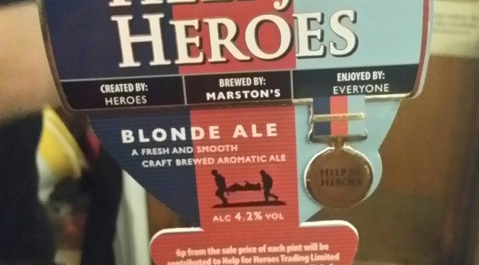 Help for Heroes – Marston's Brewery