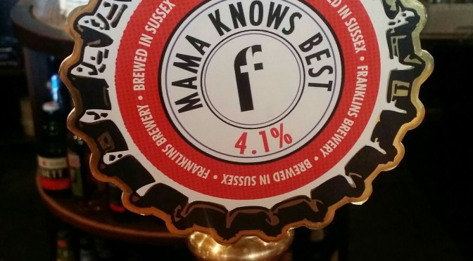 Mama Knows Best – Franklins Brewery