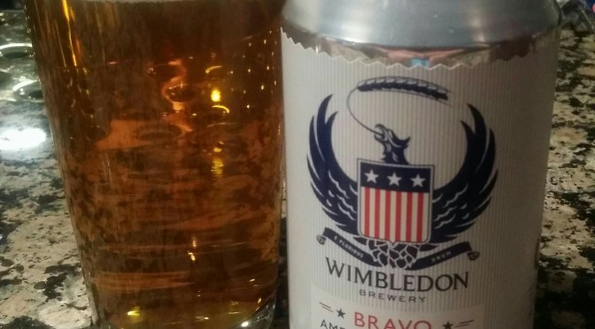 Bravo American Pale Ale – Wimbledon Brewery
