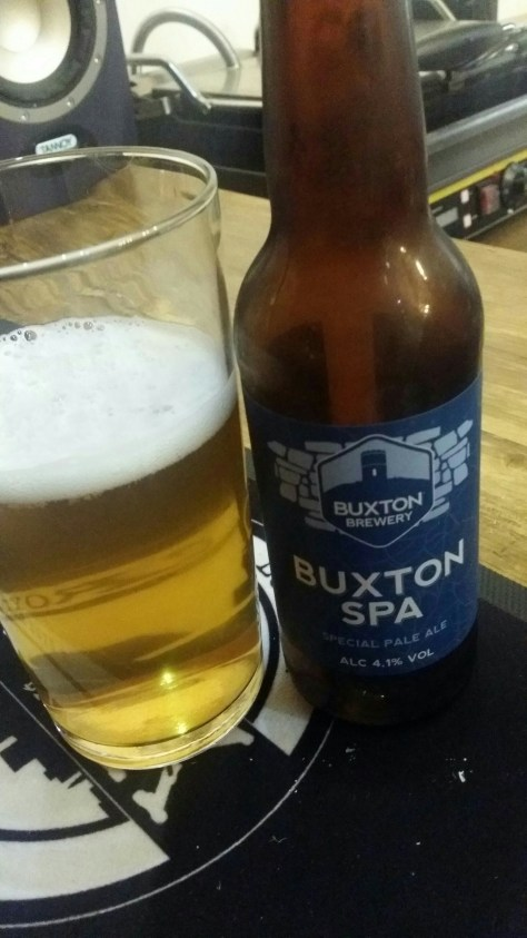 Special Pale Ale (SPA) - Buxton Brewery