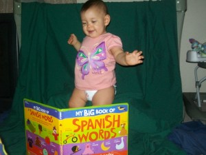 Baby K Reviews My Big Book Of Spanish Words Board Book