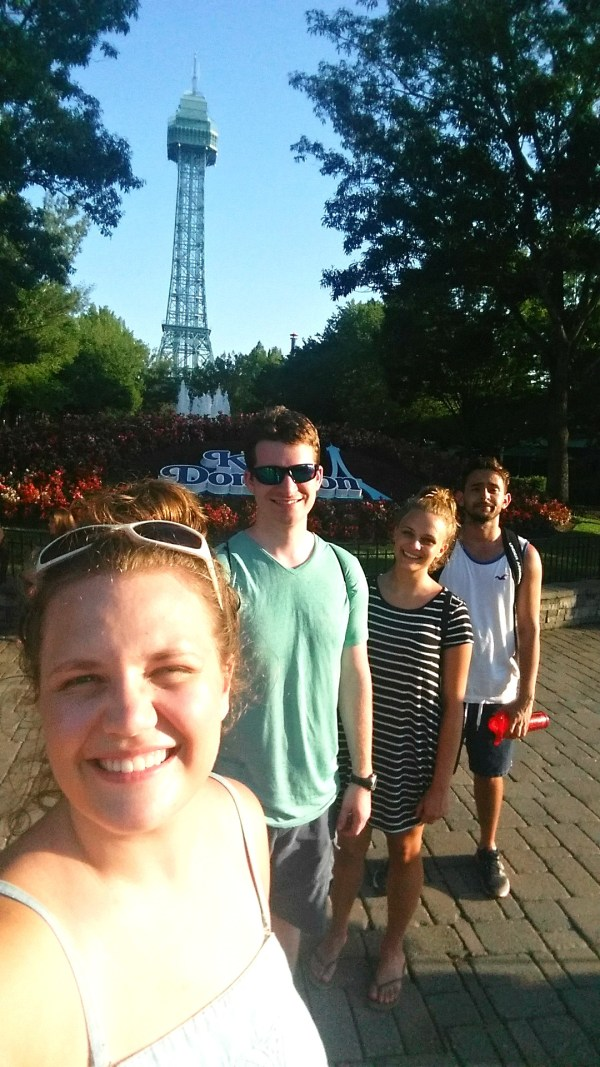 The Eiffel Tower at King's Dominion