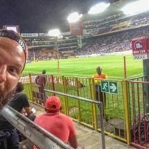 rugby selfie