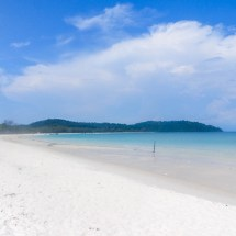 Koh Rong beautiful beach I