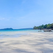 Koh Rong island coast