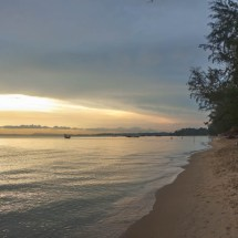 Otres beach sun goes chill