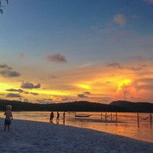 sun goes down in paradise 1