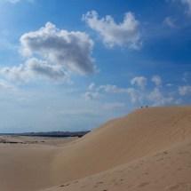 white sand dunes I