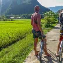 Mau Chai je suis un cyrcliste