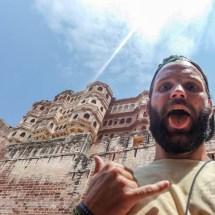 Jodhpur-fort selfie