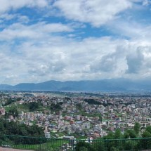 Kopan-view on Kathmandu valley pano