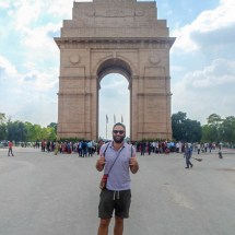 New Delhi-India Gate and I