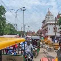 New Delhi-mad traffic jam I