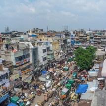 New Delhi-old delhi market street