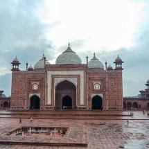 Taj Mahal-Moschee