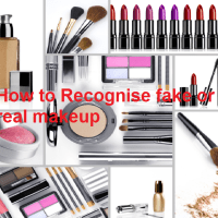 Tips How to Recognise Fake or Real Makeup