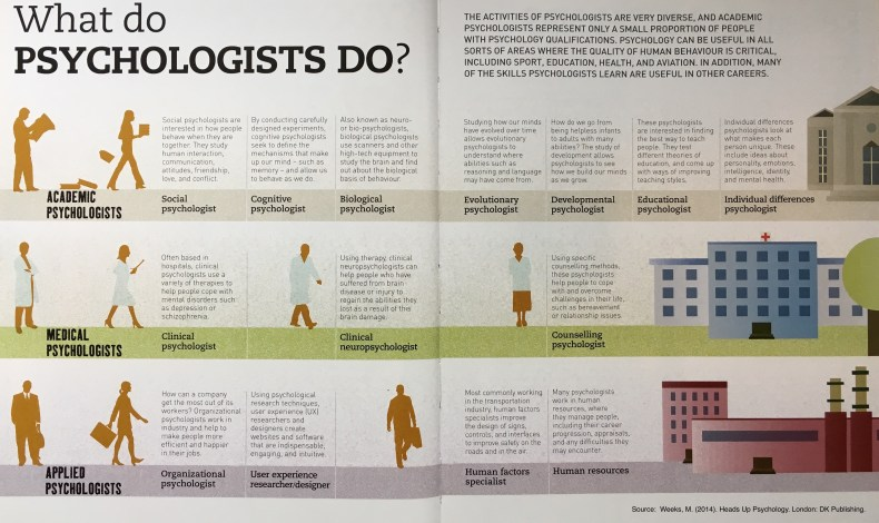 What do psychologists do