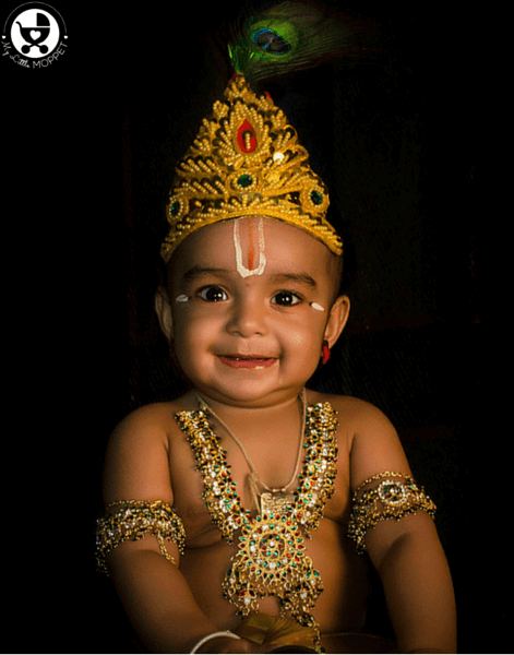7 Tips to Dress your Baby in Krishna Dress
