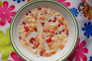 Maize Flakes with Milk and Honey