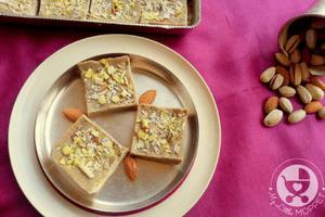 Sathumaavu Burfi / Sathumaavu Fudge Recipe