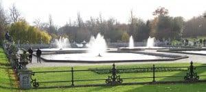 I Kensington Gardens, uno dei tanti polmoni verdi di Londra